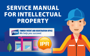Service Manual for Intellectual Property banner